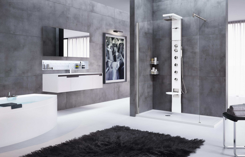 Doccia cascata naturale idee di design per la casa