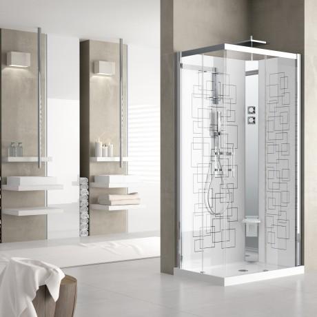Cabine doccia crystal novellini - Cabine doccia multifunzione novellini ...