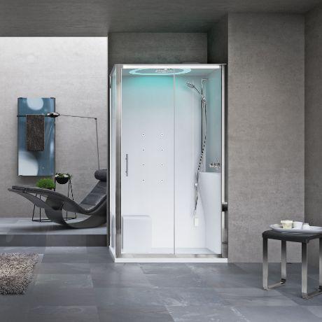 Box doccia 120 80 novellini confortevole soggiorno nella - Cabina doccia novellini prezzi ...