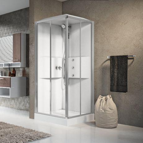 cabine doccia media 2 0 novellini. Black Bedroom Furniture Sets. Home Design Ideas