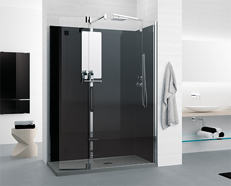 Soluzioni per la doccia novellini - Cabine doccia in muratura ...