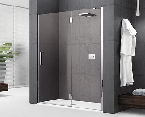 Soluzioni per la doccia novellini for Doccia aperta